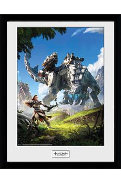 Horizon Zero Dawn Framed Poster Key Art 45 x 34 cm
