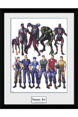 Resident Evil Framed Poster Concept Art 45 x 34 cm