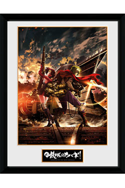 Kabaneri of the Iron Fortress Framed Poster Ikoma & Mum 45 x 34 cm