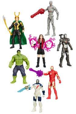 Avengers Age of Ultron All-Star Action Figures 10 cm 2015 Wave 2 Assortment (8)