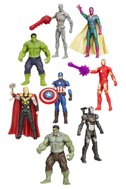 Avengers Age of Ultron All-Star Action Figures 10 cm 2015 Wave 3 Assortment (8)