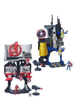 Captain America Civil War Miniverse Playsets 2016 Wave 1 4Assortment (4)