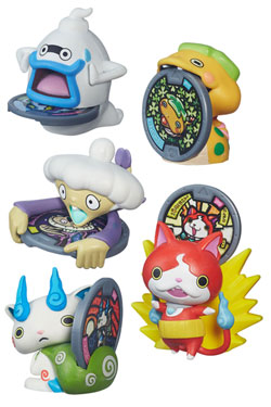 Yo-Kai Watch Medal Moments Collectible Figures 2016 Wave 1 Assortment (8)