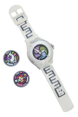 Yo-Kai Watch Watch with 2 Medals - German Version