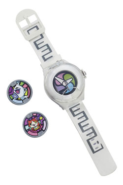 Yo-Kai Watch Watch with 2 Medals - English Version
