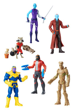Guardians of the Galaxy Action Figures 15 cm 2017 Wave 2 Assortment (8)