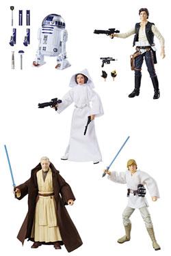 Star Wars Black Series Action Figures 15 cm 40th Anniversary Wave 1 Assortment (8)