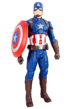 Avengers Titan Hero Elektronic Action Figure 2017 Captain America 30 cm - German Version
