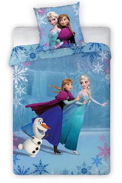 Frozen Duvet Set Anna, Elsa & Olaf on Ice 140 x 200 cm
