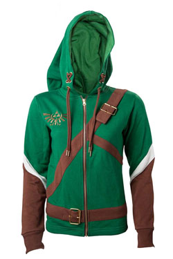 The Legend of Zelda Ladies Hooded Sweater Link Cosplay Size L