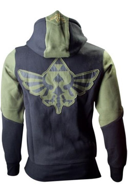 The Legend of Zelda Hooded Sweater Green Character Size XL