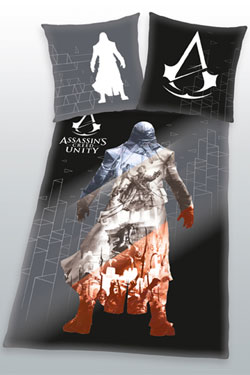 Assassins Creed Duvet Set Unity 135 x 200 cm / 80 x 80 cm
