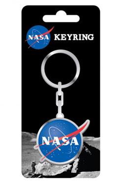 NASA Metal Keychain Badge 5 cm
