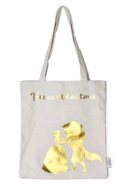 Beauty and the Beast Shopping Bag Floral