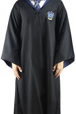 Harry Potter Wizard Robe Cloak Ravenclaw Size L