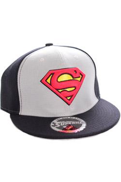 Superman Adjustable Cap College black/grey