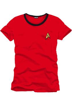 Star Trek T-Shirt Uniform red Size M
