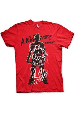 Nightmare on Elm Street T-Shirt Come Out And Play Size M