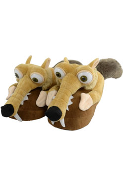 Ice Age Collision Course Slippers Scrat Size 32-34