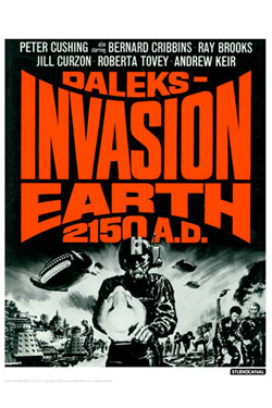 Doctor Who Art Print Invasion Earth 35 x 28 cm