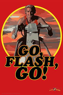 Flash Gordon Art Print Go Flash Go 35 x 28 cm