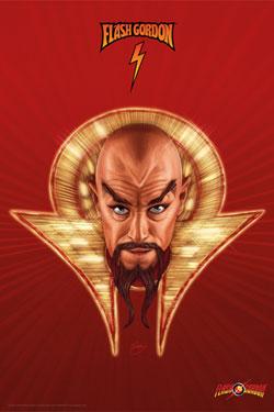 Flash Gordon Art Print Ming 42 x 30 cm