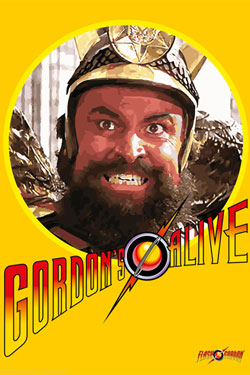 Flash Gordon Art Print Gordons Alive 35 x 28 cm