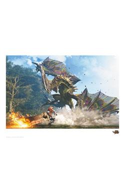Monster Hunter Generations Art Print Astalos 42 x 30 cm
