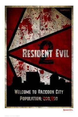 Resident Evil 2 Art Print Resident Evil 2 42 x 30 cm