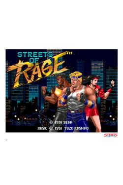 Streets of Rage Art Print Pixel 35 x 28 cm