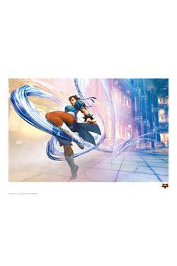 Street Fighter V Art Print Chun-Li 42 x 30 cm