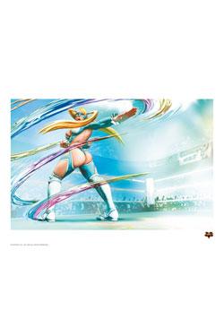 Street Fighter V Art Print R. Mika 42 x 30 cm