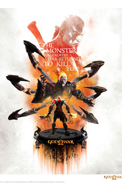 God of War Art Print Monster 35 x 28 cm