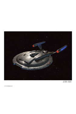 Star Trek Art Print Enterprise NX-01 35 x 28 cm