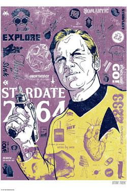 Star Trek Art Print Kirks Heart 42 x 30 cm