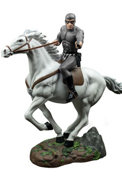 The Phantom Statue Phantom on Hero Grey Suit Edition 33 cm