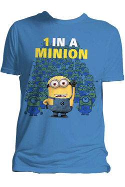 Despicable Me 2 T-Shirt One In A Minion Size M