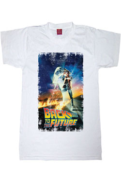 Back to the Future T-Shirt Poster Size L