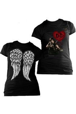 The Walking Dead Ladies T-Shirt Daryl Dixon Love Size S