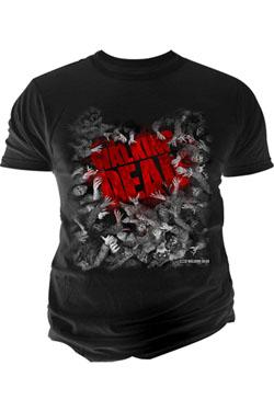 The Walking Dead T-Shirt Walker Hoarde Size M