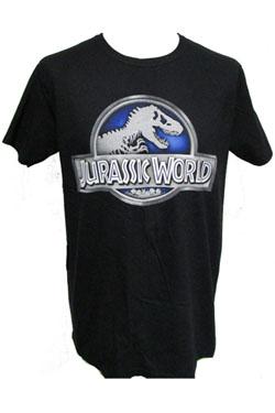 Jurassic World T-Shirt Logo Size L