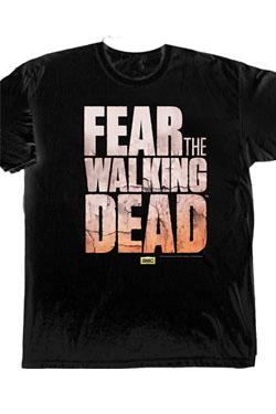 Fear The Walking Dead T-Shirt Logo Size L