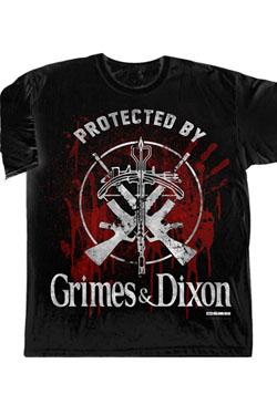 Walking Dead T-Shirt Grimes & Dixon Protection Size XL