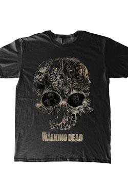 Walking Dead T-Shirt Skull Size XL
