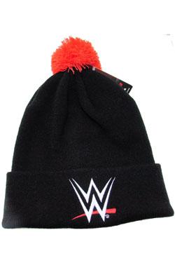 WWE Wrestling Beanie Bobble Logo