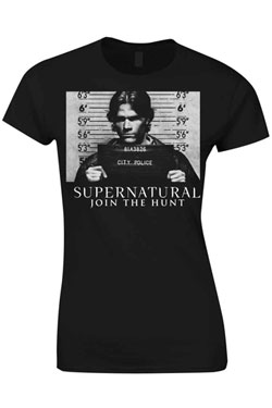 Supernatural Ladies T-Shirt Join The Hunt Size XL