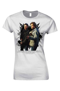 Supernatural Ladies T-Shirt The Winchester Bros. Size L