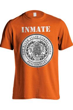 Prison Break T-Shirt Fox River Inmate Orange Size XL