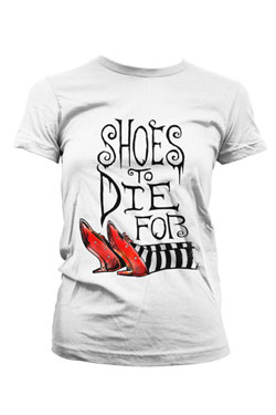 The Wizard of Oz T-Shirt Shoes To Die For Size M