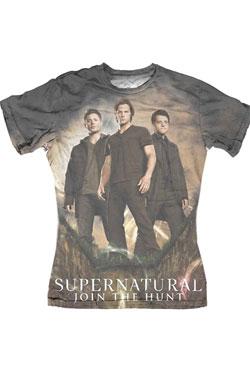 Supernatural Ladies Sublimation T-Shirt Group  Size L